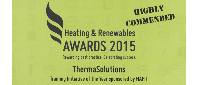 Training Initiative of The Year 2015 Runner up